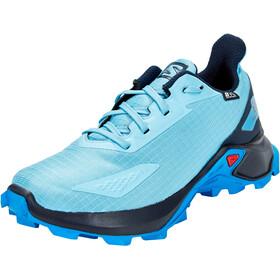 Salomon Alphacross Blast CSWP Chaussures Enfant, ethereal blue/navy blazer/indigo bunting